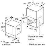 MICRO ONDAS BALAY 3CG5172N0 5